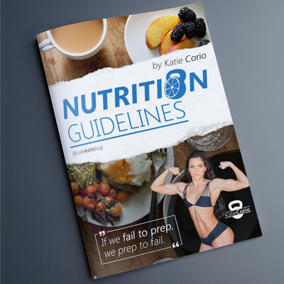 Nutrition Guidelines by Katie Corio