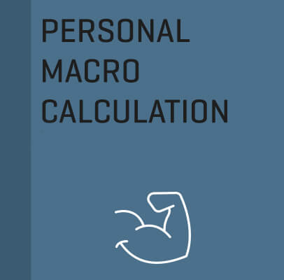 Personal Macro Calculation, with email support & weekly check ins